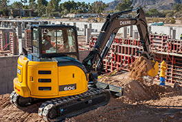 The 60G joins the G-Series, which was unveiled at World of Concrete 2013.